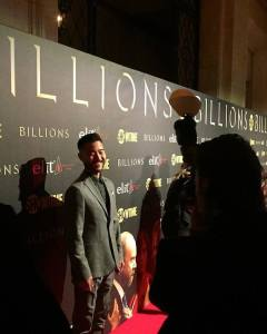 Daniel K. Isaac at the Showtime and elit Vodka hosted BILLIONS Season 2 premiere and party, held at Cipriani's in New York City on February 13, 2017. (Facebook)