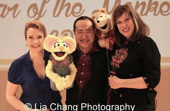 Jennifer Barnhart, Alan Muraoka and Pam Arciero. Photo by Lia Chang