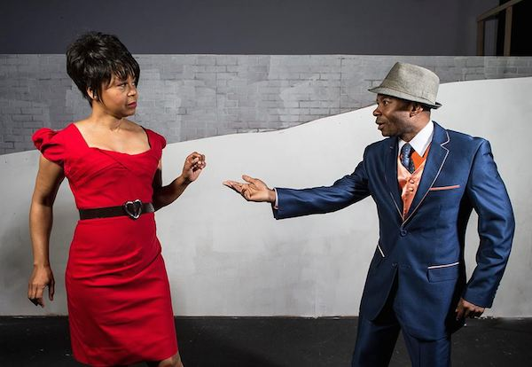 Karole Foreman and Elijah Rock in The Gershwins' Porgy and Bess. Photographer: David Bazemore
