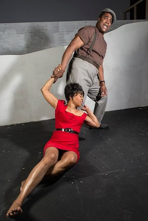 KB Solomon and Karole Foreman in The Gershwins' Porgy and Bess. Photographer: David Bazemore