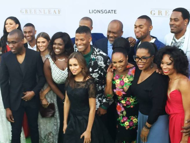 "The cast of ""Greenleaf"". Photo courtesy of (Facebook/Greenleaf OWN)"