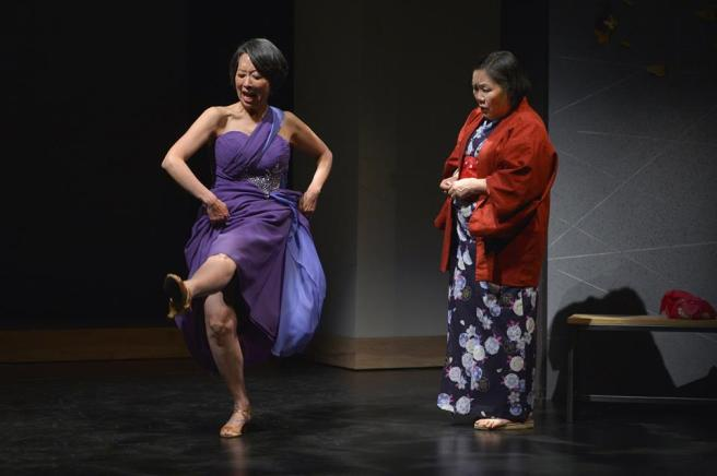 Jeanne Sakata and Emily Kuroda. Photo by Kevin Berne