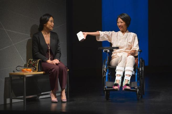 Elizabeth Pan and Jeanne Sakata. Photo by Kevin Berne
