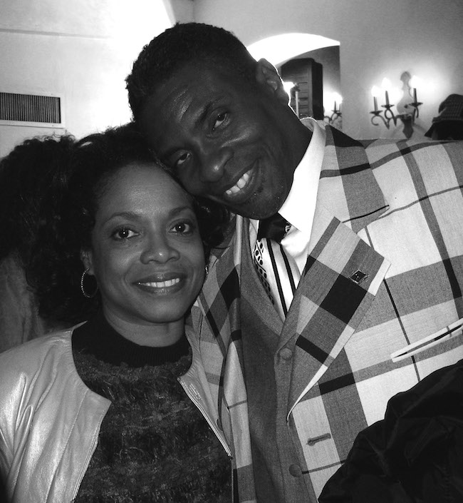 Denise Burse and Keith David. Photo by Lia Chang