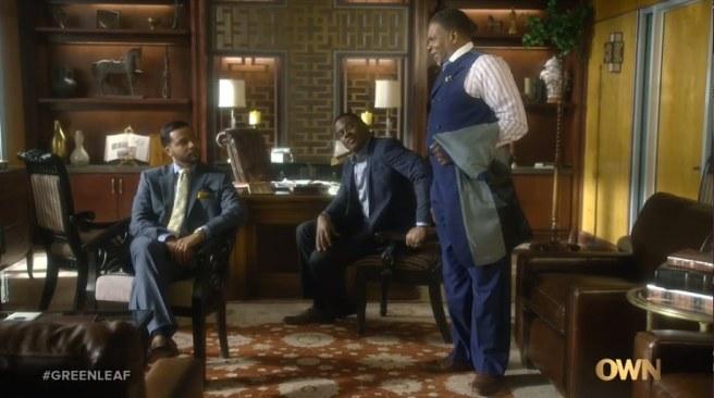 """Jason Dirden, Lamman Rucker and Keith David on """"Greenleaf."""""""