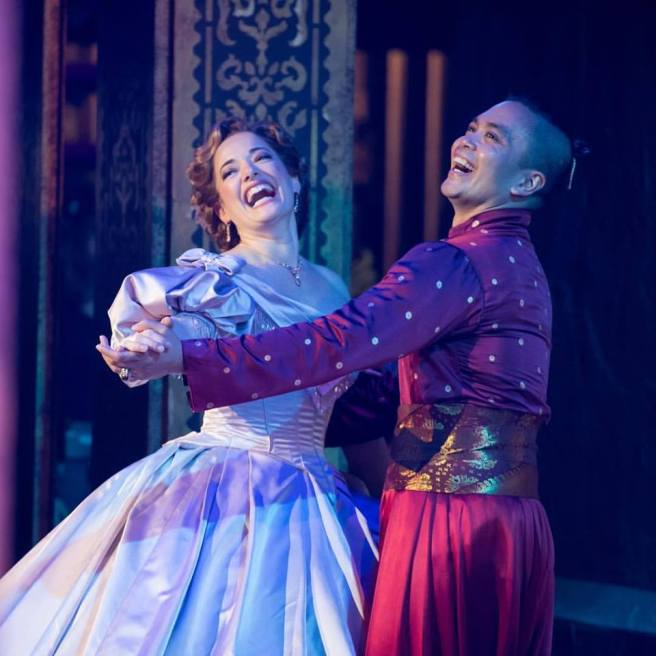 Laura Michelle Kelly and Jose Llana. Photo by @kspimages