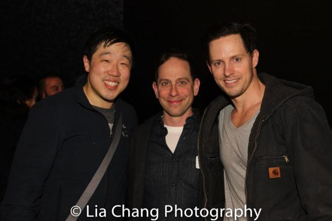 Raymond J. Lee, Garth Kravits and Andrew Call. Photo by Lia Chang