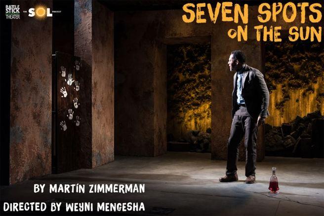 Peter Jay Fernandez in Martin Zimmerman's 'Seven Spots on the Sun'. Photo by Russ Rowland