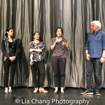 Producer Mark Mitten, Vera Sung, Jill Sung, Chanterelle Sung. Photo by Lia Chang
