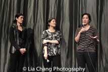 Vera Sung, Jill Sung, Chanterelle Sung. Photo by Lia Chang
