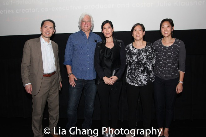 Ti-Hua Chang, producer Mark Mitten, Vera Sung, Jill Sung, Chanterelle Sung. Photo by Lia Chang