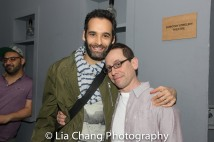 Jonathan Raviv and Garth Kravits. Photo by Lia Chang
