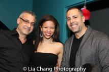 Flor De Liz Perez and guests. Photo by Lia Chang