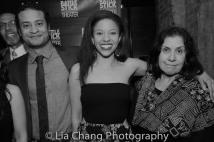 Peter Jay Fernandez, Cesar Rosado, Flor De Liz Perez and Socorro Santiago. Photo by Lia Chang