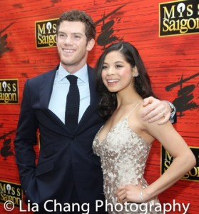 MISS SAIGON'S Allistar Brammer and Eva Noblezada. Photo by Lia Chang