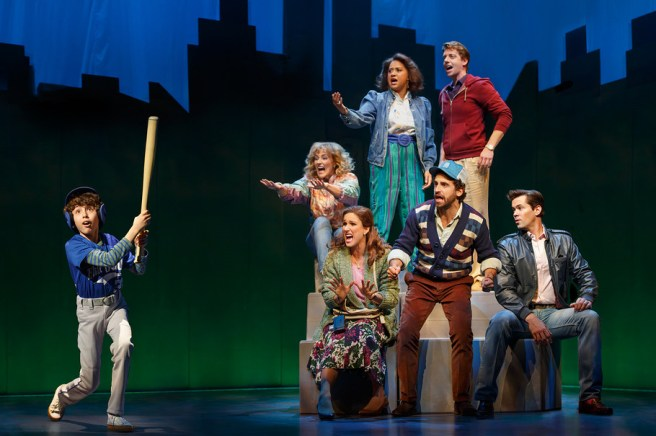 The company of Falsettos Photo by: Joan Marcus
