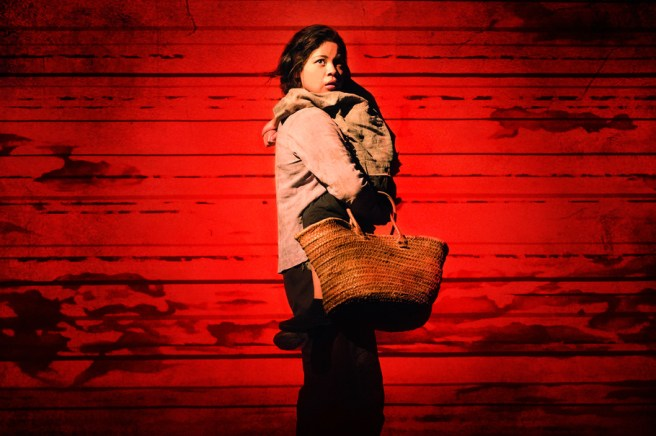 Eva Noblezada in a scene from Miss Saigon. Photo by: Matthew Murphy