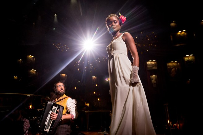 Josh Groban and Denée Benton in Natasha, Pierre, and the Great Comet of 1812 Photo by: Chad Botka