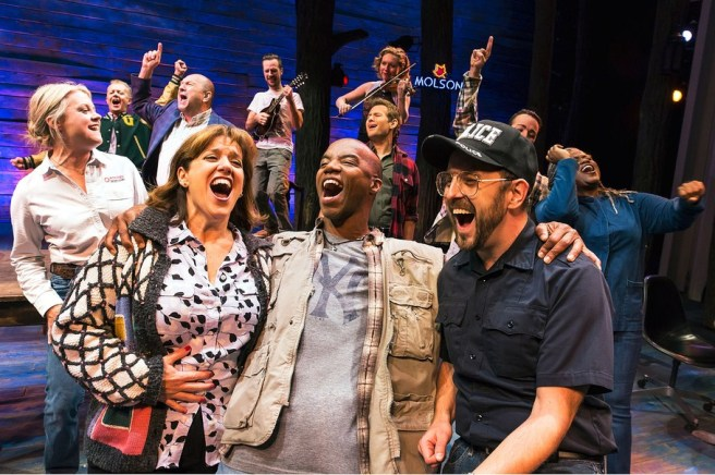 The cast of Come from Away Photo by: Matthew Murphy