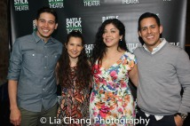 David Mendizábal, Adriana Gaviria, Claudia Acosta and Jacob Padrón. Photo by Lia Chang