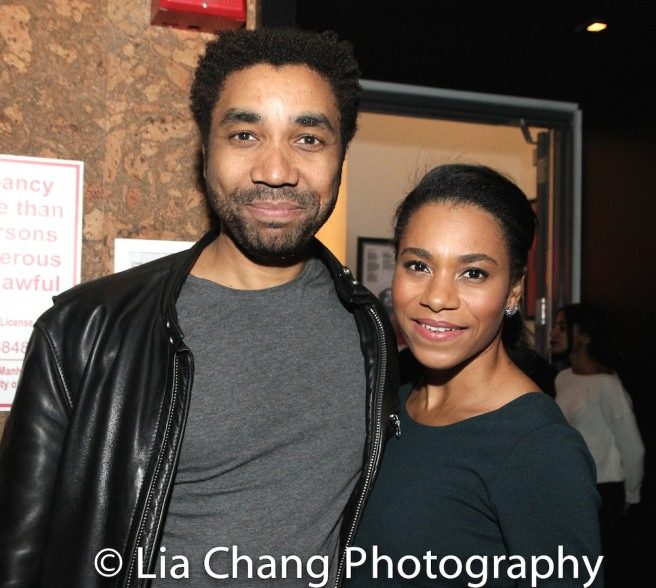 Edward O'Blenis and Kelly McCreary. Photo by Lia Chang