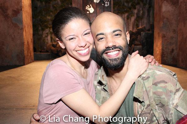 Flor De Liz Perez and Sean Carvajal. Photo by Lia Chang
