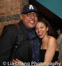 Keith Randolph Smith and Flor De Liz Perez. Photo by Lia Chang