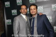 Peter Jay Fernandez and Cesar Rosado. Photo by Lia Chang