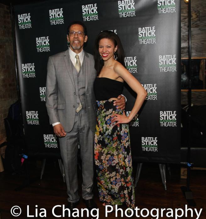 Peter Jay Fernandez and Flor De Liz Perez. Photo by Lia Chang