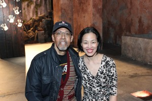 Peter Jay Fernandez and Lia Chang. Photo by Garth Kravits