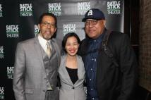 Peter Jay Fernandez, Lia Chang and Keith Randolph Smith. Photo by Garth Kravits