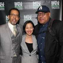 Peter Jay Fernandez, Lia Chang and Keith Randolph Smith. Photo by Garth Kravits