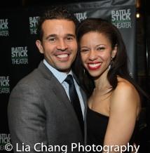 Rey Lucas and Flor De Liz Perez. Photo by Lia Chang