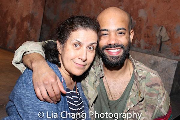 Socorro Santiago and Sean Carvajal. Photo by Lia Chang