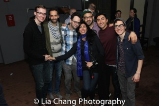 Tim Rosser, Jonathan Raviv, Charlie Sohne, Nejla Yatkin, Osh Ghanimah, Nikhil Saboo and Troy Iwata (not pictured: Deven Kolluri). Photo by Lia Chang