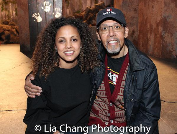 Weyni Mengesha and Peter Jay Fernandez. Photo by Lia Chang