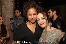 Weyni Mengesha and Alessandra Mesa. Photo by Lia Chang