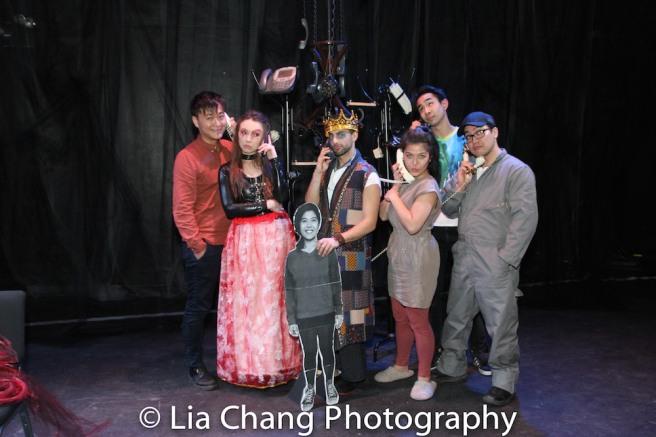 Director Chongren Fan, Meilin Gray, Gerardo Pelati, Carolina Do, Roger Yeh and Edgar Eguia. Photo by Lia Chang