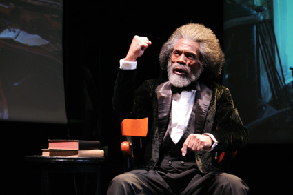 """André De Shields in """"Frederick Douglass: Mine Eyes Have Seen The Glory"""". © Lia Chang"""