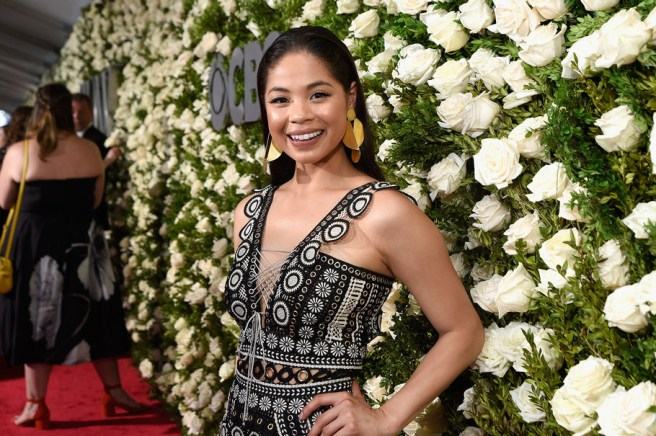 NEW YORK, NY - JUNE 11: Eva Noblezada attends the 2017 Tony Awards at Radio City Music Hall on June 11, 2017 in New York City. (Photo by Jenny Anderson/Getty Images for Tony Awards Productions)