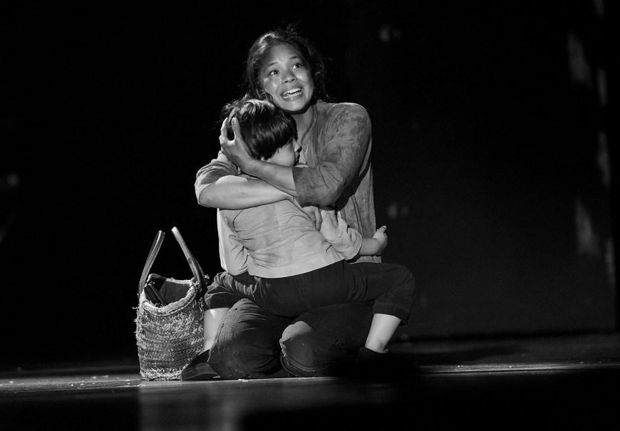 Tony nominee Eva Noblezada at the dress rehearsal for the 2017 Tony Awards on June 11, 2017. Credit: Stephanie Berger
