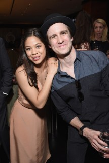NEW YORK, NY - JUNE 01: Eva Noblezada and Gavin Creel attend Designed To Celebrate: A Toast To The 2017 Tony Awards Creative Arts Nominees at The Lamb's Club at the Chatwal NY (Photo by Jenny Anderson/Getty Images for Tony Awards Productions)