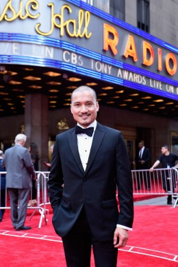 NEW YORK, NY - JUNE 11: Actor Jon Jon Briones attends the 2017 Tony Awards at Radio City Music Hall on June 11, 2017 in New York City. (Photo by Jenny Anderson/Getty Images for Tony Awards Productions)