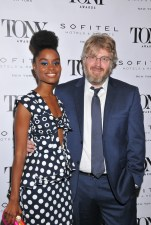 Denee Benton and Dave Malloy (l. to r.) attend the Tony Honors Cocktail Party Presenting The 2017 Tony Honors For Excellence In The Theatre And Honoring The 2017 Special Award Recipients - at Sofitel Hotel on June 5, 2017 in New York City. Credit: Shevett Studios