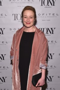 NEW YORK, NY - JUNE 05: Jennifer Ehle attends the Tony Honors Cocktail Party presenting the 2017 Tony Honors for excellence in the theatre and honoring the 2017 special award recipients at Sofitel Hotel on June 5, 2017 in New York City. (Photo by Bryan Bedder/Getty Images for Tony Awards Productions)