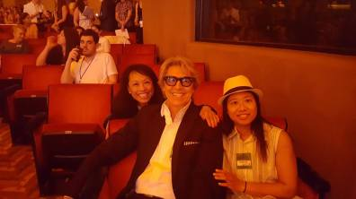 Baayork Lee, Tommy Tune and her niece Petula at the 71st Annual Tony Awards ceremony rehearsal on June 11, 2017. Photo: NAAP/Facebook