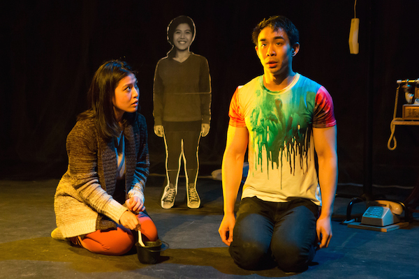 Caroline Do, Roger Yeh in Frances Ya-Chu Cowhig's 410[GONE]. Photo by Hunter Canning