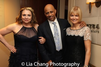 Constanza Romero, Ruben Santiago-Hudson and Jeanne Santiago-Hudson. Photo by Lia Chang