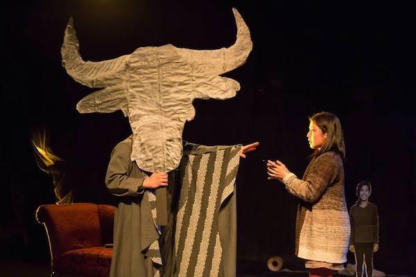 Edgar Eguia and Carolina Do in Frances Ya-Chu Cowhig's 410[GONE]. Photo by Hunter Canning