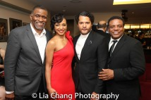 Jerome Preston Bates, Carra Patterson, Brandon J. Dirden and Harvy Blanks. Photo by Lia Chang